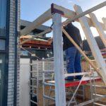 uitbouw Fysiotherapie praktijk uitgevoerd door Scholte Bouw