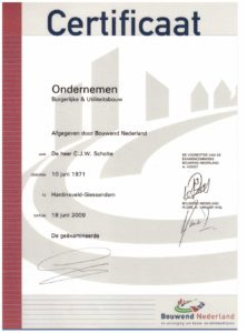 certificaat-ondernemen-scholtebouw